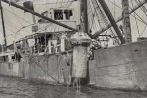 "Salvage Vessel & Diving Bell for ""Niagara"" Salvage"